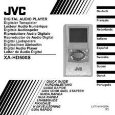 Buy JVC XA-HD500S-6 Service Manual by download Mauritron #284587