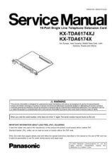 Buy Panasonic TDA6174XJ Manual by download Mauritron #302226