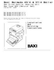 Buy Baxi BERMUDA 57-4 E GCNO.44-077-74 by download Mauritron #323976