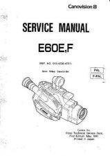 Buy CANON. E230E. Camcorder. Service Manual by download Mauritron #337724