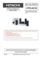 Buy Hitachi HTD-K180 Service Manual by download Mauritron #290434