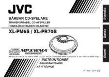 Buy JVC XL-PM6S - XL-PR70B Service Manual by download Mauritron #277292