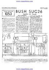 Buy BUSH SUG26 TRADER SHEETS by download Mauritron #329222