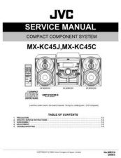 Buy JVC MX-KC4-7 Service Manual by download Mauritron #283001