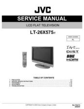 Buy JVC LT-26X575T Service Manual by download Mauritron #282698