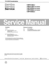 Buy Philips 14PV120 Service Manual by download Mauritron #323576