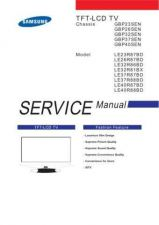 Buy Samsung LE range version 2 manual by download Mauritron #328892