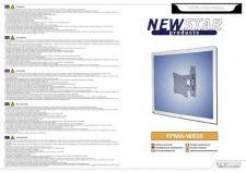 Buy Newstar FPMA W810 Audio Visual Instructions by download #333558