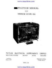 Buy Windsor 66a Manual by download Mauritron #315286