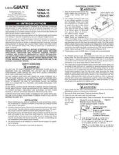 Buy Honeywell littlegiant vcma20manual Operating Guide by download Mauritron #316854