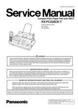 Buy Panasonic KMF0609054CE_KX-FC228CE-S Manual by download Mauritron #299435