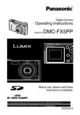 Buy Panasonic DMC-FX5GN Manual by download Mauritron #298742