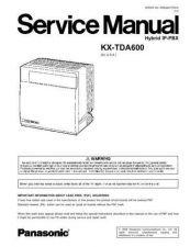 Buy Sharp KX-TDA600-2 Manual by download Mauritron #298475