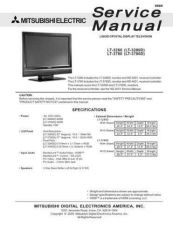 Buy Mitsubishi LT3280 Service Manual by download Mauritron #323388