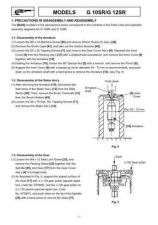 Buy Hitachi G10SR Tool Service Manual by download Mauritron #319972