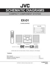 Buy JVC EX-D1-18 Service Manual by download Mauritron #280365