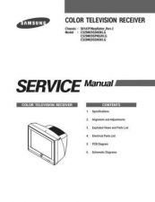 Buy Samsung CS25M20 Service Manual by download Mauritron #332792