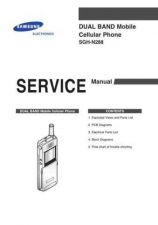 Buy Samsung SGH-N288 Mobile Phone Service Manual by download Mauritron #306391