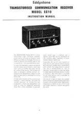 Buy Eddystone EC10 & Mk2 Instruction manual 1970 by download Mauritron #316566