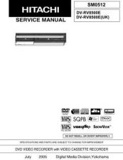 Buy Hitachi DVD-2025H Service Manual by download Mauritron #285251