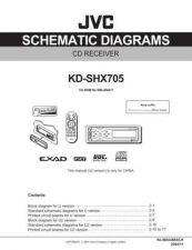 Buy JVC KD-SHX705-11 Service Manual by download Mauritron #282273