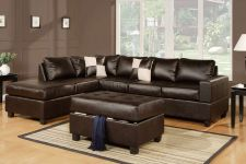 Buy Sectional sofa with free storage ottoman eBay sofa Furniture Living room #F7351
