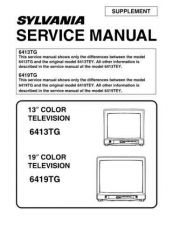 Buy Emerson 6413TG Service Manual by download Mauritron #330527