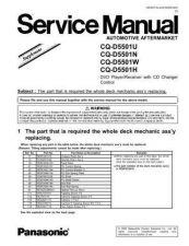 Buy Sharp CQ-D5501U Manual by download Mauritron #298194