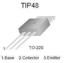 Buy Transistor - TIP48 NPN High-Voltage Power Amplifier - 6 Pieces