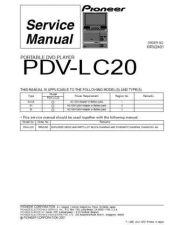 Buy Panasonic PDV-LC20 Manual by download Mauritron #301259