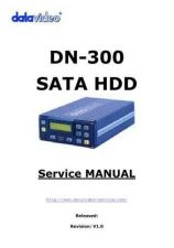 Buy Datavideo DN300 SATA Service Manual by download Mauritron #324915