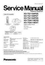 Buy Panasonic KX-TG9140ES Manual by download Mauritron #300552