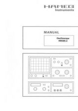 Buy Hameg HM305 2 Operating Guide by download Mauritron #307174