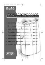 Buy De Longhi PAC T100eco Air Conditioner Operating Guide by download Mauritron #316470