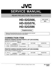 Buy JVC HD-52G586-=-=-=- Service Manual by download Mauritron #281080