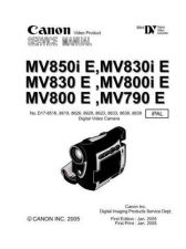 Buy canon mv-790 800 830 850 by download #334609