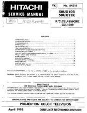 Buy Hitachi YK0431E Service Manual by download Mauritron #323368
