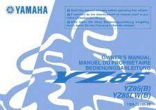 Buy Yamaha 1SN-28199-80 Motorcycle Manual by download #333951