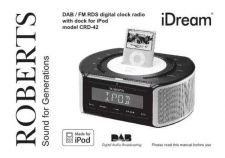 Buy Roberts idream DAB Radio Operating Instruction Guide by download Mauritron #306675