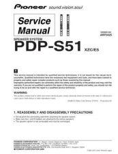 Buy Panasonic PDP-S51 Manual by download Mauritron #301241