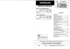Buy Hitachi VTS751A Service Manual by download Mauritron #287410