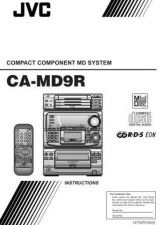 Buy JVC CA-MD9 Service Manual by download Mauritron #281350