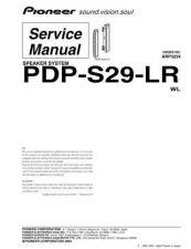 Buy Panasonic PDP-S29-LR Manual by download Mauritron #301223
