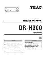 Buy Teac DRH300DAB Service Manual by download Mauritron #319350