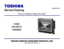 Buy Toshiba CTV01F TV Service Manual by download Mauritron #323056