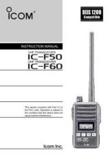 Buy Icom ICA4 VER1 Avionics Operating Guide by download Mauritron #317302