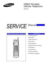 Buy Samsung SCH-470 Mobile Phone Service Manual by download Mauritron #306247
