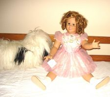 "Buy SHIRLEY TEMPLE PLAYPAL 33"" Tall Danbury Mint Live Size Doll Adorable So Real"