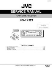 Buy JVC KS-FX321 Service Manual by download Mauritron #282453