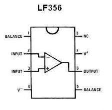 Buy IC - LF356 JFET Op Amp IC (DIP-8) - 6 Pieces